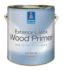 Exterior primers the sherwin williams company sweets for Exterior wood water based primer