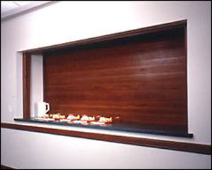 Models/Operation: Woodfold Roll Up Doors Are Available For: Manual  Operation, Awning Crank Operation, Or Electric Motor Driven.