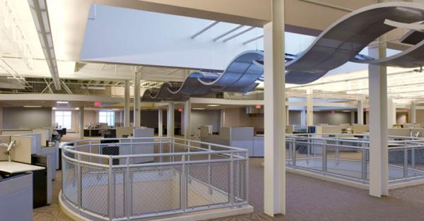 Metalscapes wire and mesh ceiling panels rockfon llc sweets