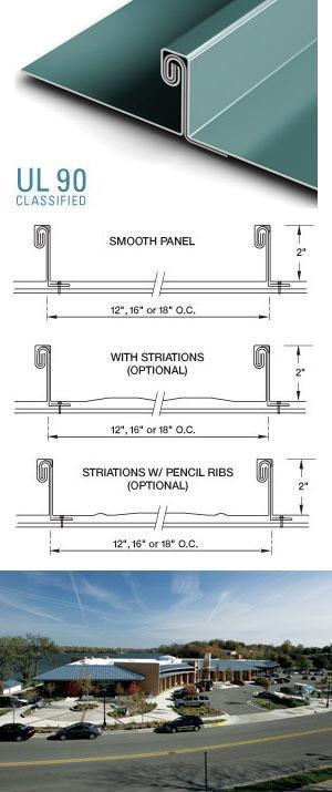tite loc plus standing seam metal roofing petersen. Black Bedroom Furniture Sets. Home Design Ideas
