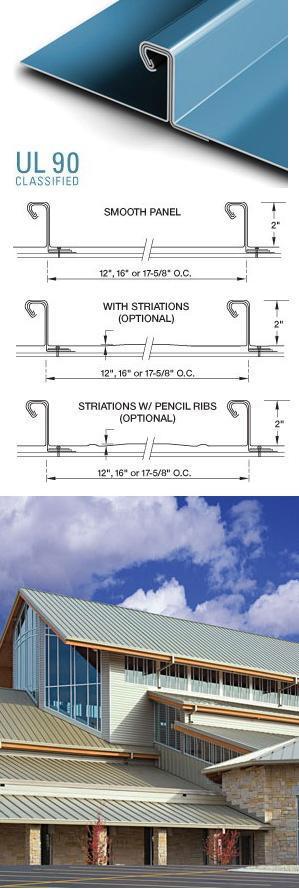tite loc hs standing seam metal roofing petersen. Black Bedroom Furniture Sets. Home Design Ideas