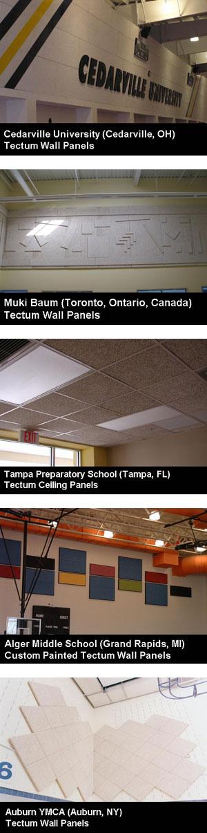 Tectum: A Unique Acoustical Product Tectum Acoustical