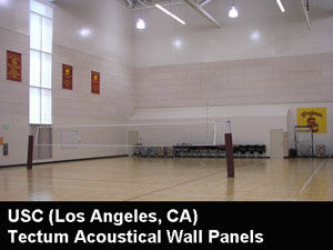 Tectum Acoustical Walls Tectum interior panels offer an effective