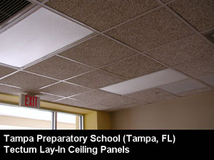 Tectum Ceiling Panels