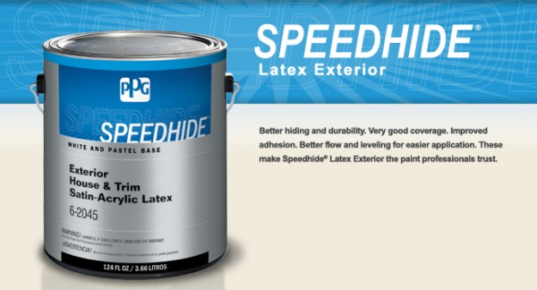Speedhide Exterior Latex Paint Ppg Architectural Coatings Sweets