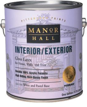 Manor Hall Interior Exterior Gloss Acrylic Latex Paint Ppg Paints Sweets