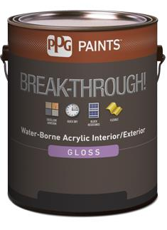 Break Through 50 Interior Exterior Gloss Water Borne Acrylic Ppg Paints Sweets