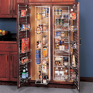 Pantry Systems Provide The Ultimate In Space Saving
