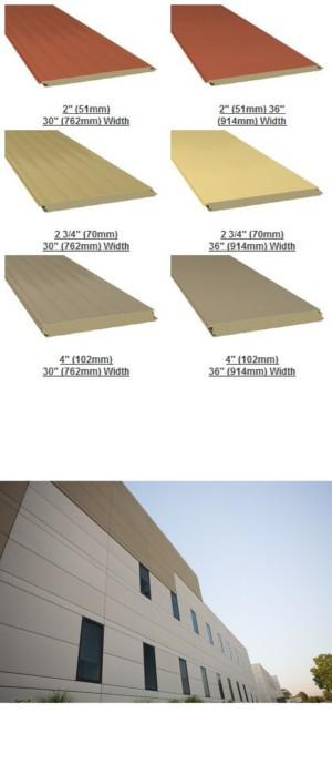 Versawall 174 Factory Foamed Insulated Wall Panel System