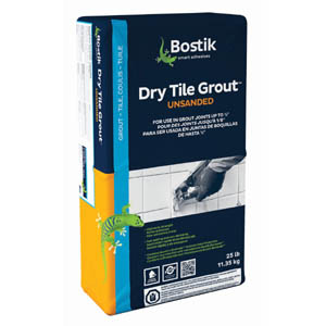 Bostik Dry Tile Grout - Unsanded