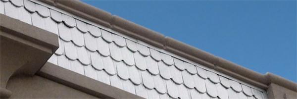 Fish scale metal roof shingles berridge metal roof and for Fish scale shingles