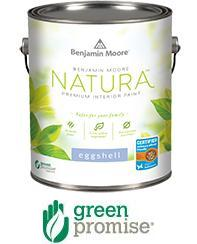 Benjamin moore natura waterborne interior paint can for Benjamin moore eco spec paint