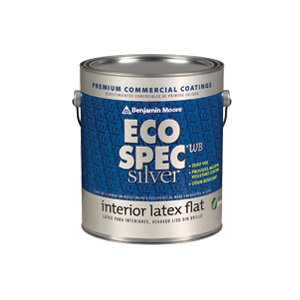 Eco spec wb silver interior latex paint usa benjamin for Benjamin moore eco spec paint