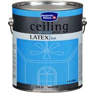 Moores latex ceiling paint can benjamin moore co for Benjamin moore eco spec paint