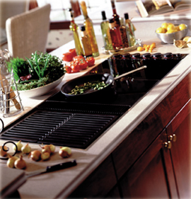 Downdraft Electric Cooktops