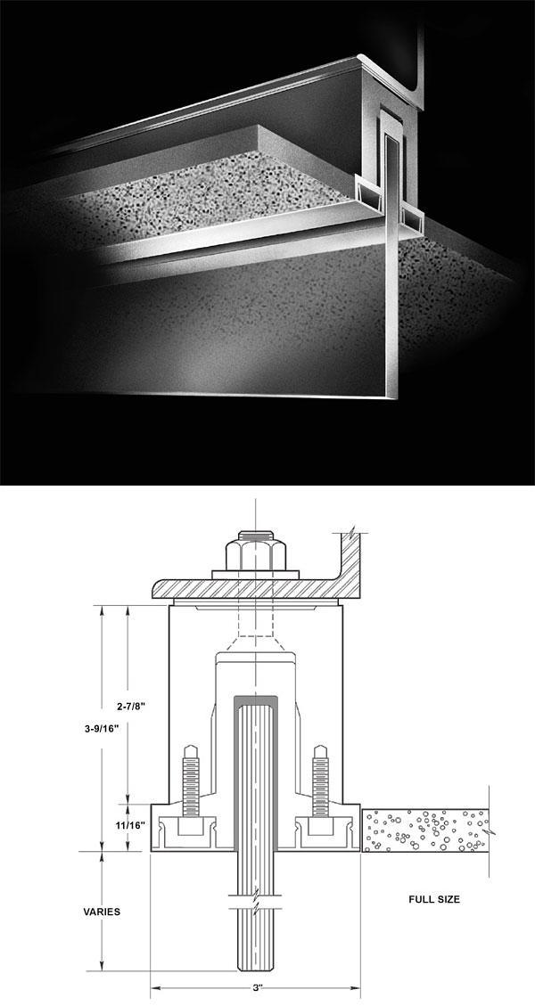 Concrete Baffle Wall Design : Images about details on