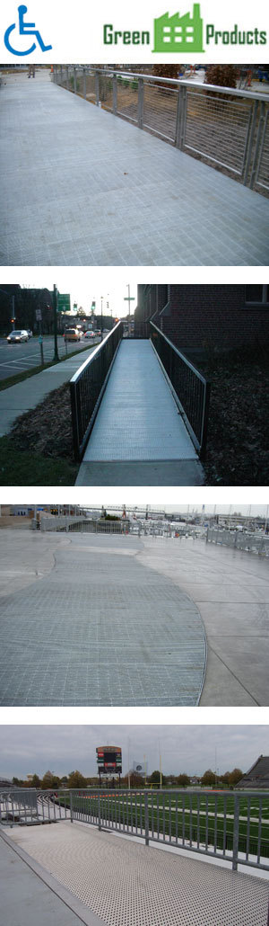 Ada compliant metal walking surfaces ohio gratings inc for Ada compliant flooring