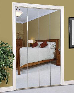 Slimfold Bifold And Overlay Mirrored Doors Dunbarton