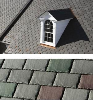 Symphony Composite Slate Roof Shingles Certainteed