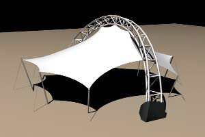 Compression Ring Roof Structure Tensile Structures For