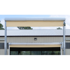 General Industrial Overhead Rapid Coiling Fabric Doors Rollseal A Division Of Hh