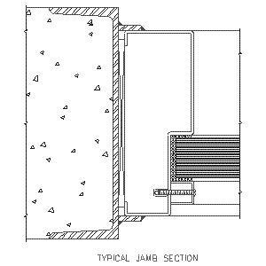 Typical Jamb-Overly Door Co.