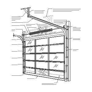 Cad Details From Bp Glass Garage Doors Entry Systems