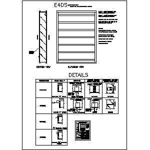 Architectural Louvers Cad Details Selectionarchitectural Louvers Cad Details Architectural Louvers Cad