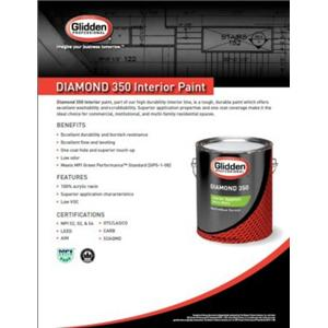 Diamond 350-Diamond 350 Interior Acrylic Paint