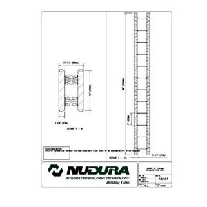 "Nudura 6"" (152mm) Standard Form Unit-NUDURA"