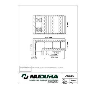 "Nudura 6"" (152mm) 90 Deg. Corner Form Unit-NUDURA"