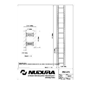 "Nudura 8"" (203mm) Standard Form Unit-NUDURA"