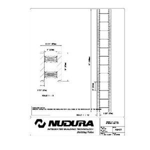 """Nudura 8"""" (203mm) Standard Form Unit-Nudura"""