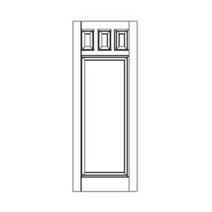 Panel Door Style 497 NST68963 P on exterior security doors for home
