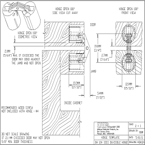 Cad Details From Soss Door Hardware Sweets