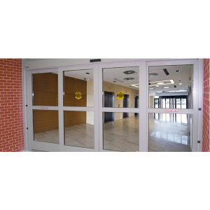 Dura shield blast resistant automatic sliding door for Insulgard security products