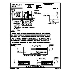 CAD DuraGlide 2000 and 3000 Automatic Sliding Door Series Stanley Access Technologies LLC Sweets 827662 photo collection additionally door cad stanley dura glide wiring diagram at crackthecode.co