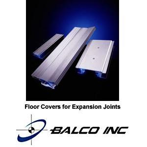 6FTP/6FVTP - 6000 Series Multi Directional Floor Expansion Joint Covers-Balco, Inc.