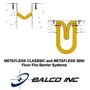 METAFLEX® Classic Floor Fire Barrier Systems-Balco, Inc.