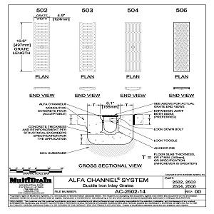 Cad Details From Multidrain Systems Llc Sweets