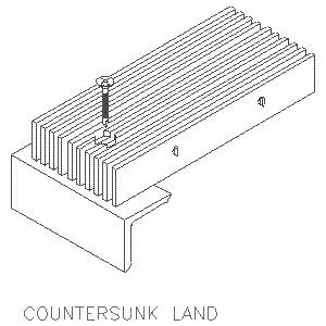 Countersunk Land-Ohio Gratings, Inc.