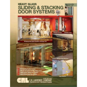 Cr Laurence Sliding Gl Door On Folding Wall Systems