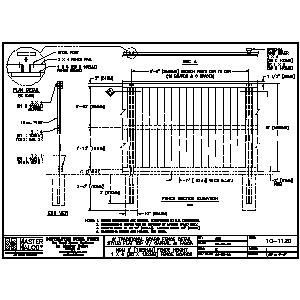 Cad Details From Master Halco Inc Sweets
