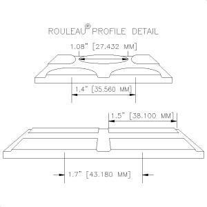 Rouleau Profile Detail-Burke Flooring