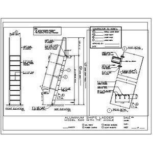 520 Ship Ladder-O'Keeffe's Inc.