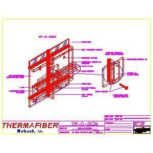 UL Design CW-D-2039-Thermafiber, Inc.