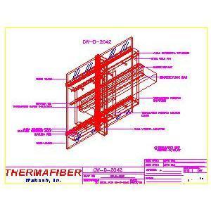 UL Design CW-D-2042-Thermafiber, Inc.