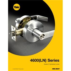 4600(LN) Series Grade 2 Cylindrical Locks-4600(LN) Series Grade 2 Cylindrical Locksets
