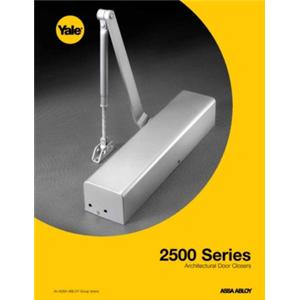 2500 Series Architectural Door Closers-2500 Series Architectural Door Closers