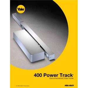 400 Power Track® Electromechanical Closer-Holder-400 Series Power Track® Electromechanical Closer-Holder